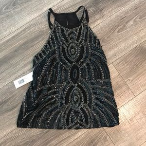 Beaded Parker ⭐️ women's XS cami tank top sequins